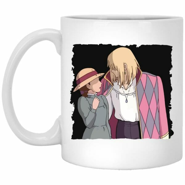 Howl's Moving Castle – Howl and Sophie Running Classic Mug