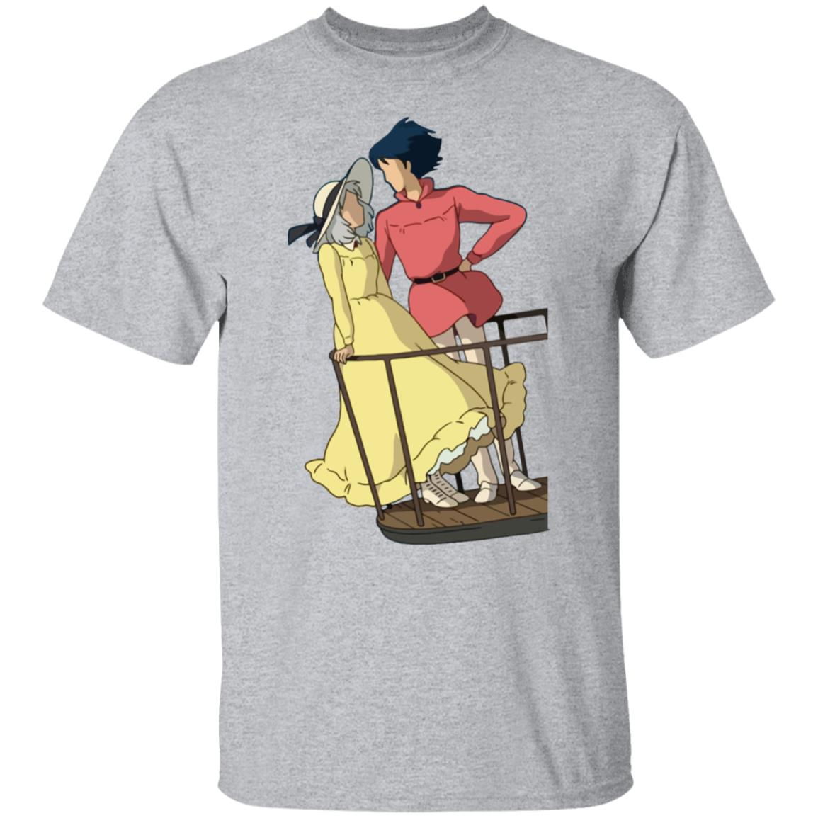 Howl's Moving Castle – Sophie and Howl Gazing at Each other T Shirt