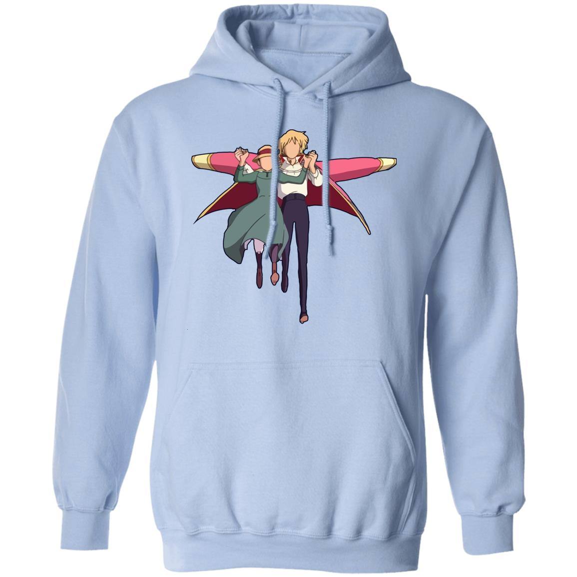 Howl's Moving Castle – Howl and Sophie Running Classic Hoodie