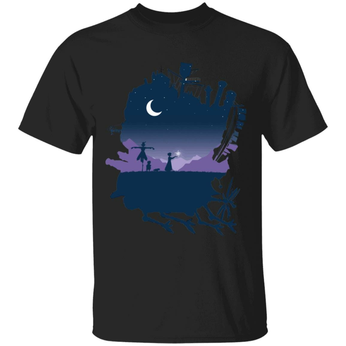 Howl's Moving Castle Midnight T Shirt