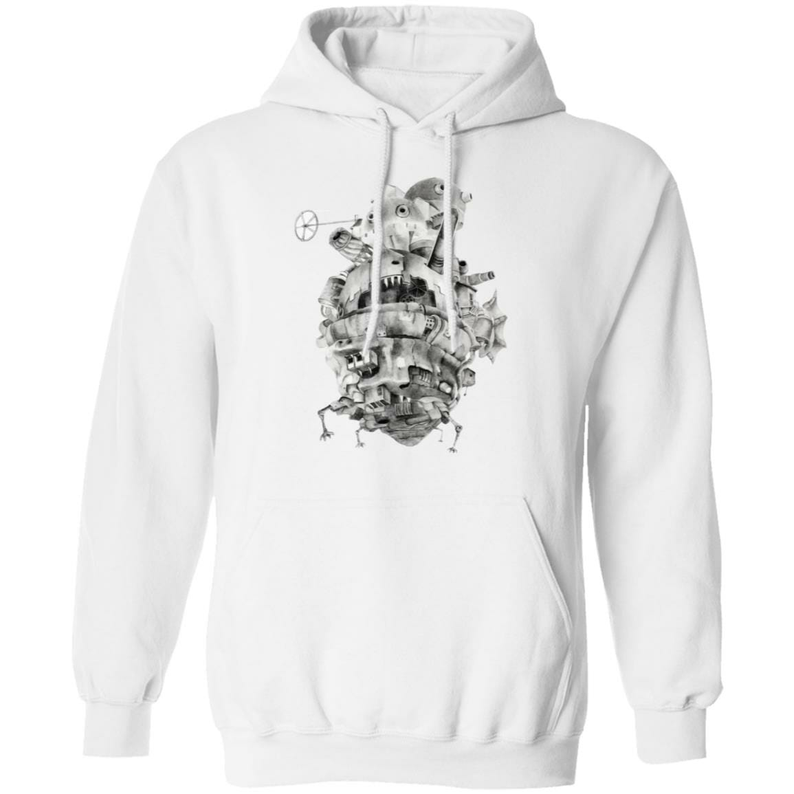 Howl's Moving Castle 3D Hoodie