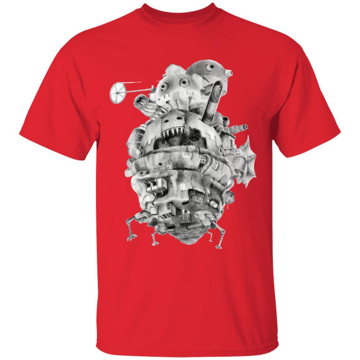 Howl's Moving Castle 3D T Shirt