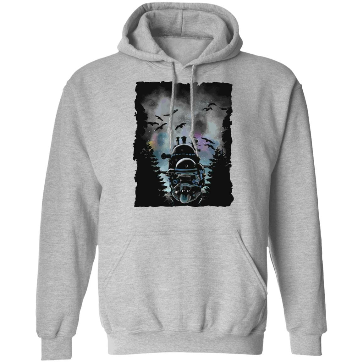 Howl's Moving Castle At Night Hoodie