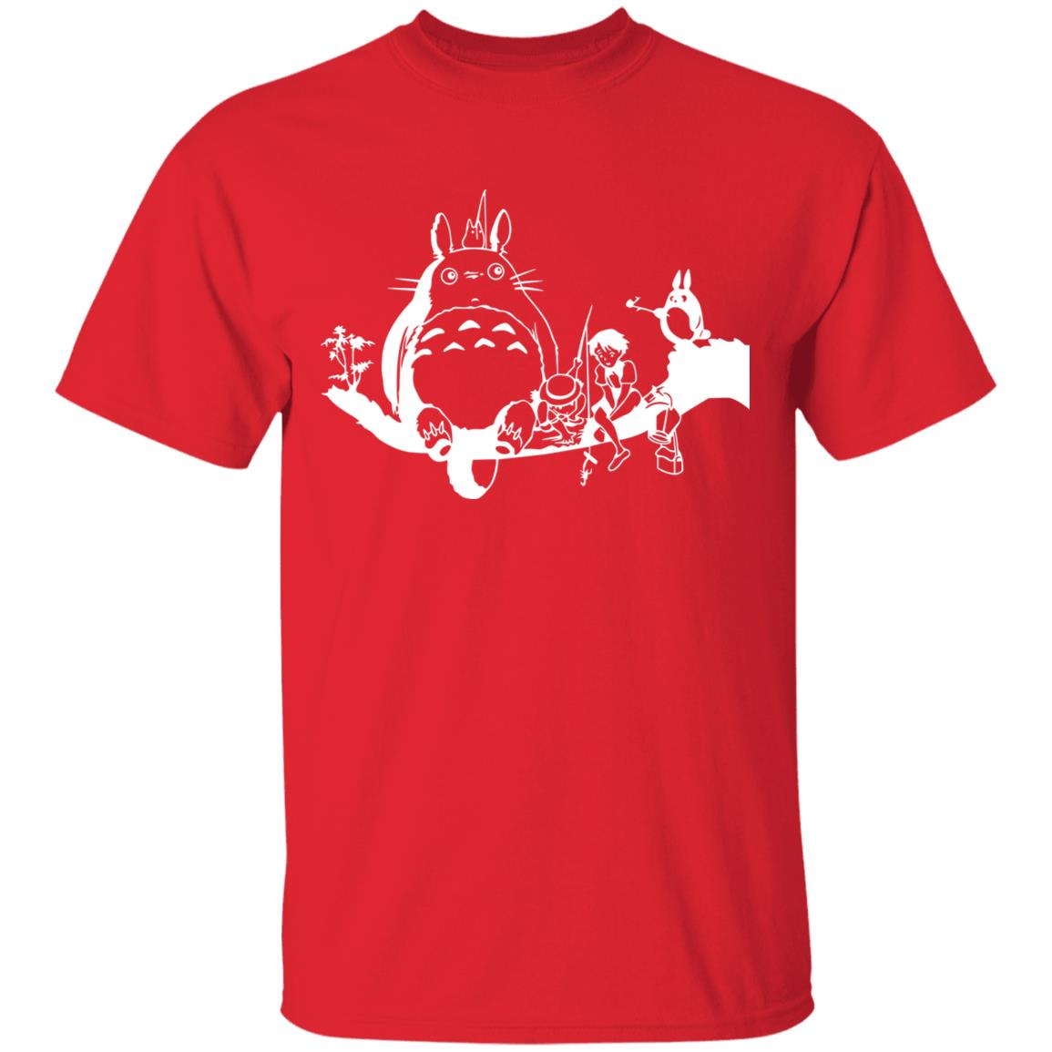My Neighbor Totoro – Fishing Retro T Shirt