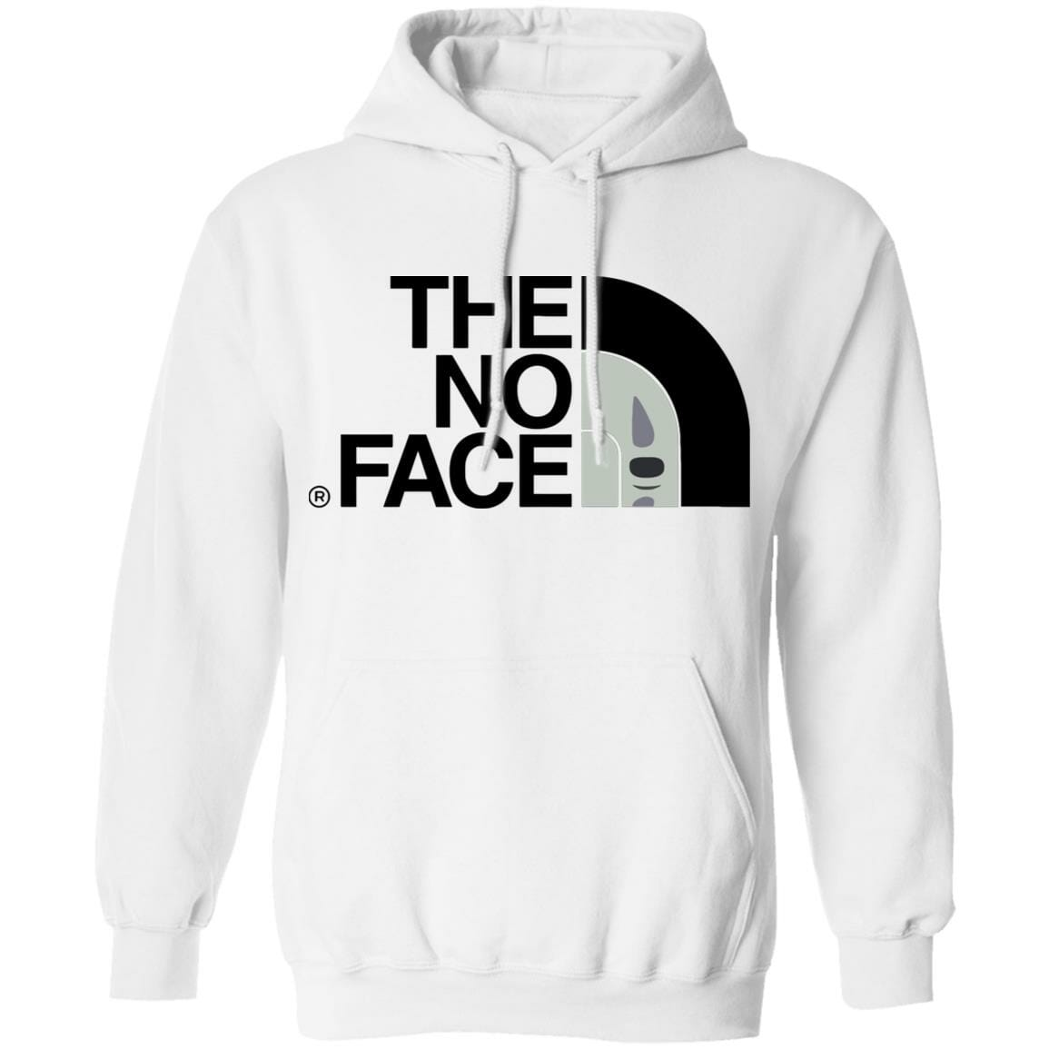 Spirited Away – The No Face Hoodie