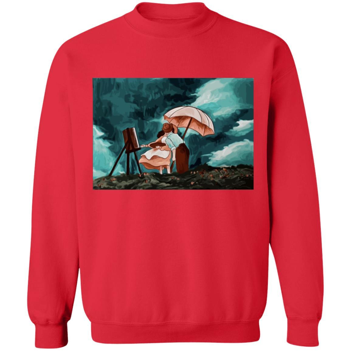 When the wind rises Classic Sweatshirt
