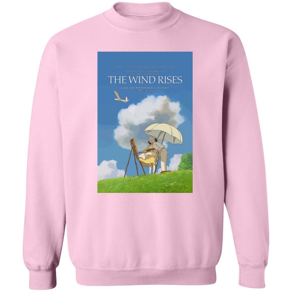 The Wind Rises Poster Classic Sweatshirt