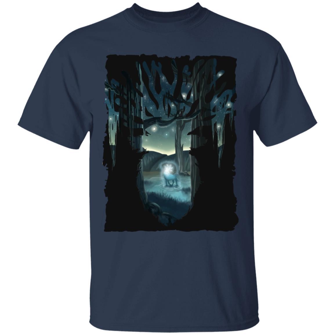 Mononoke Princess – Shishigami Transforming T Shirt