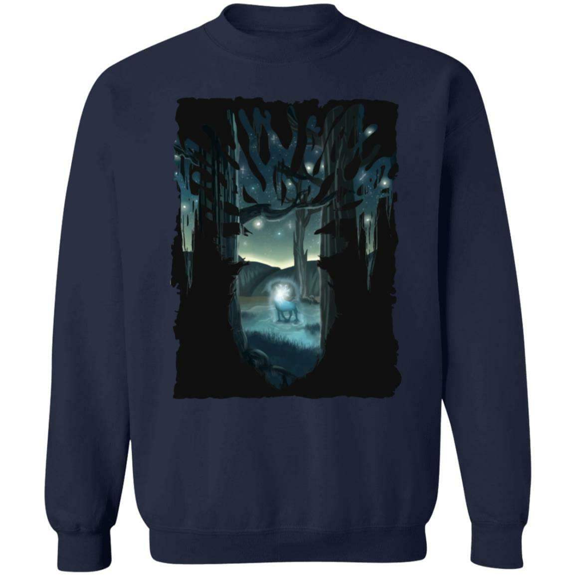 Mononoke Princess – Shishigami Transforming Sweatshirt