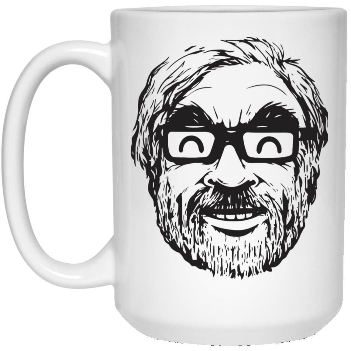 Ghibli Studio – Hayao Miyazaki Portrait Mug