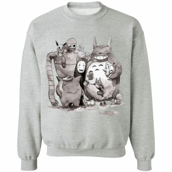 Ghibli ft. Pokemon Characters Sweatshirt