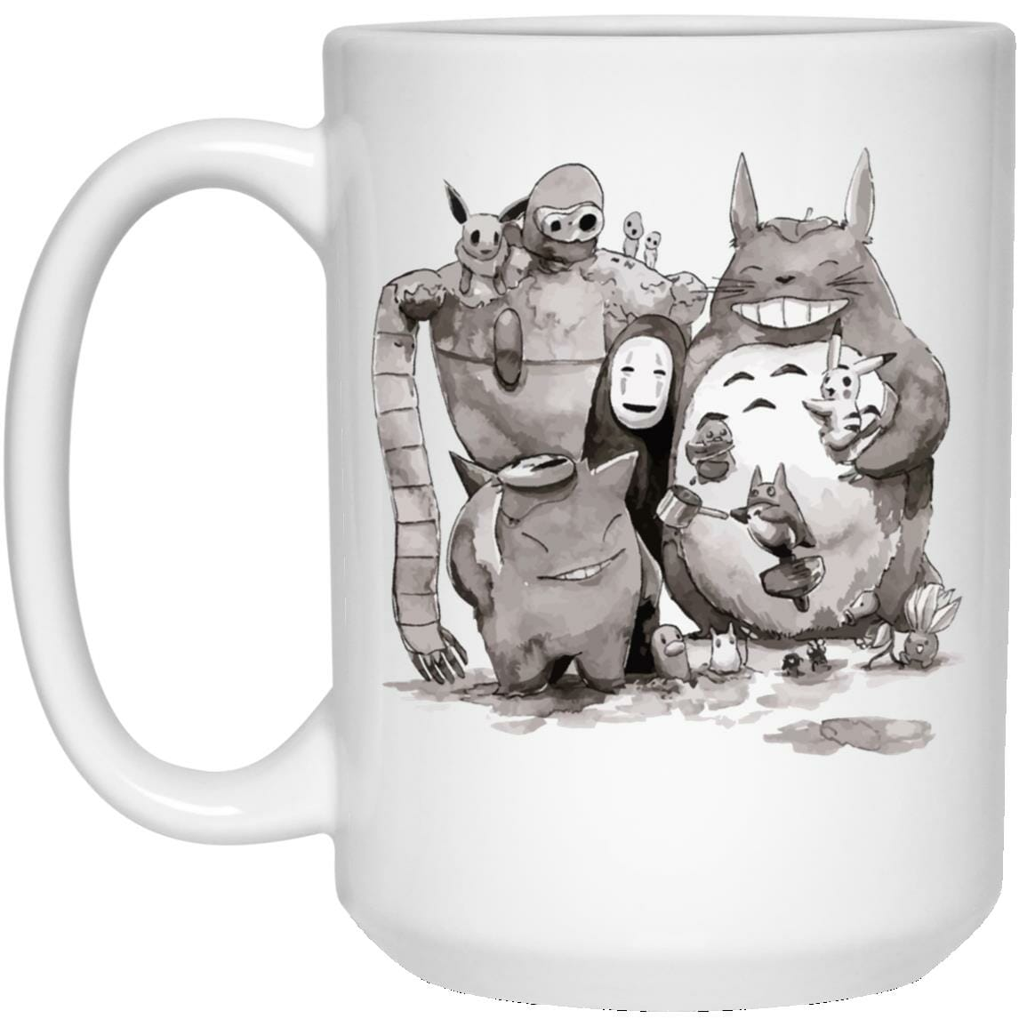 Ghibli ft. Pokemon Characters Mug