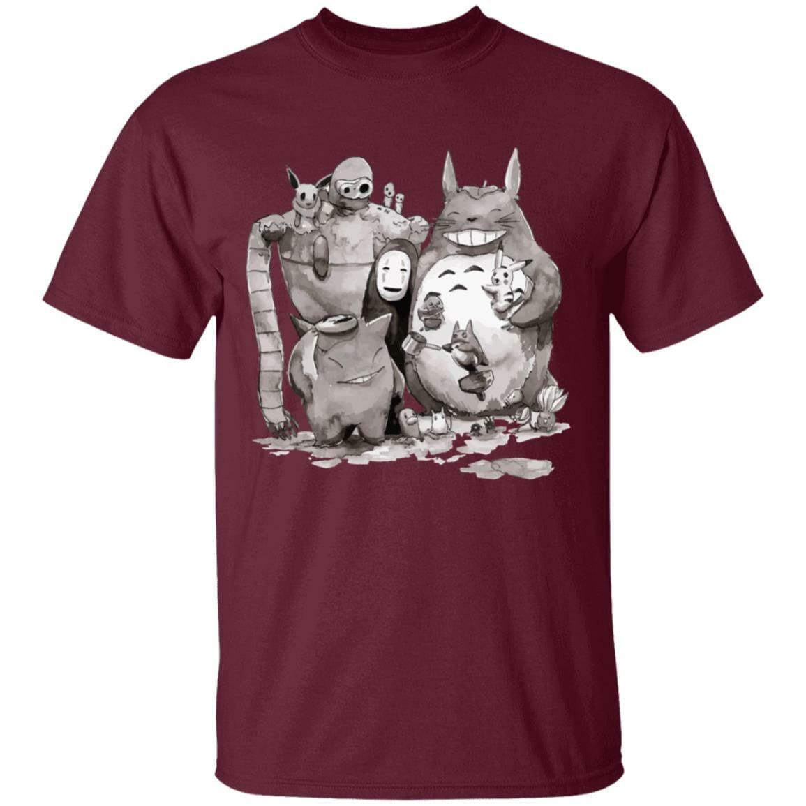 Ghibli ft. Pokemon Characters T Shirt