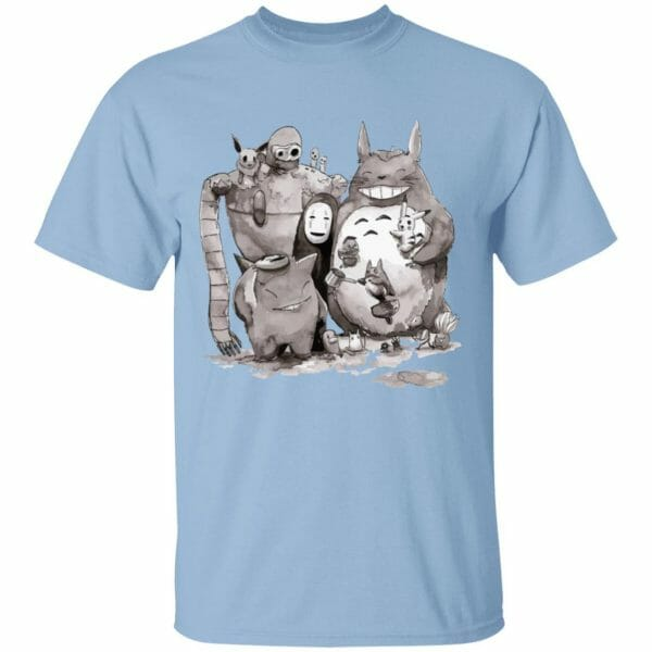 Ghibli ft. Pokemon Characters T Shirt