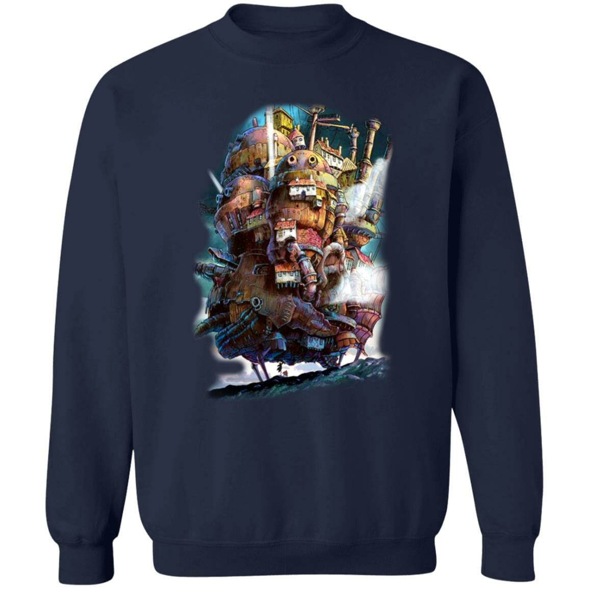Howl's Moving Caslte on the Sky Sweatshirt