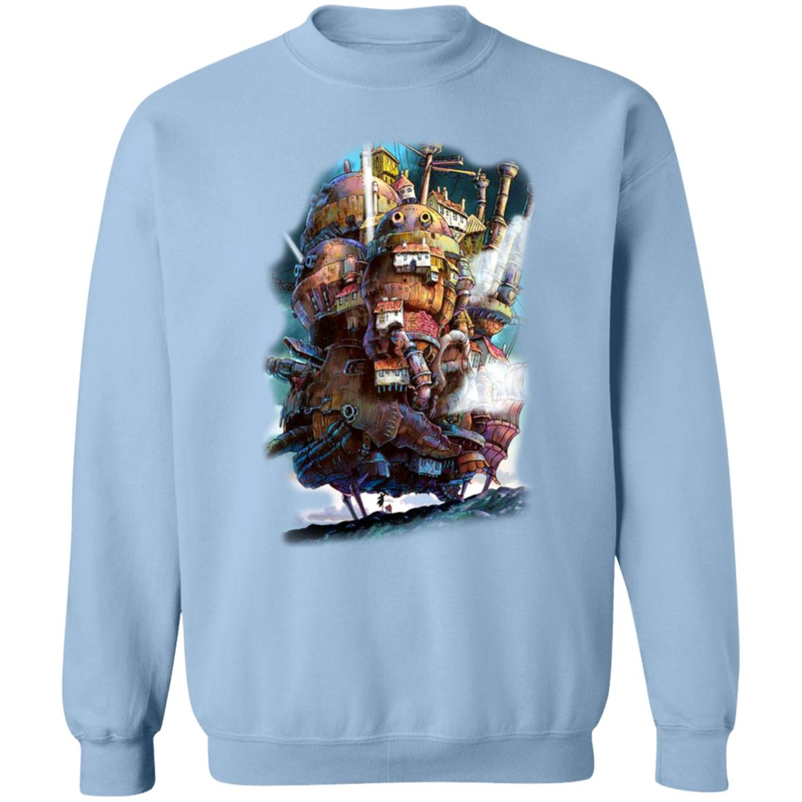 How's Moving Caslte on the Sky Sweatshirt