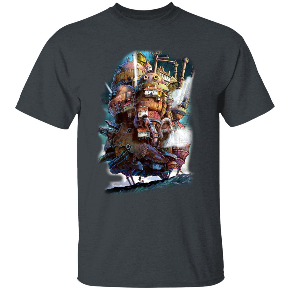 Howl's Moving Caslte on the Sky T Shirt