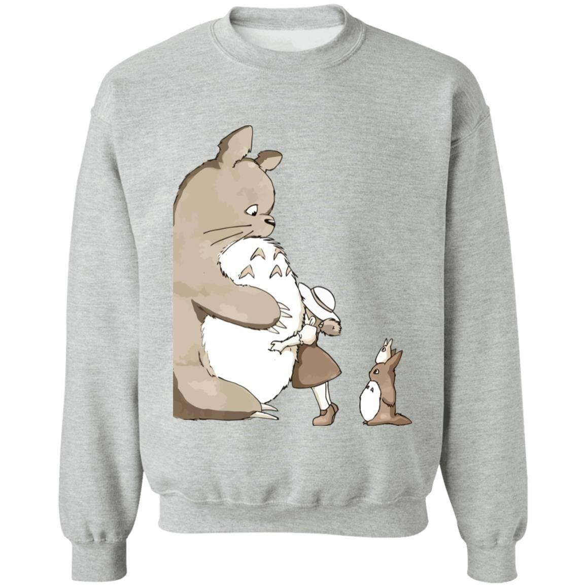 Totoro and Mei: Hugging Sweatshirt