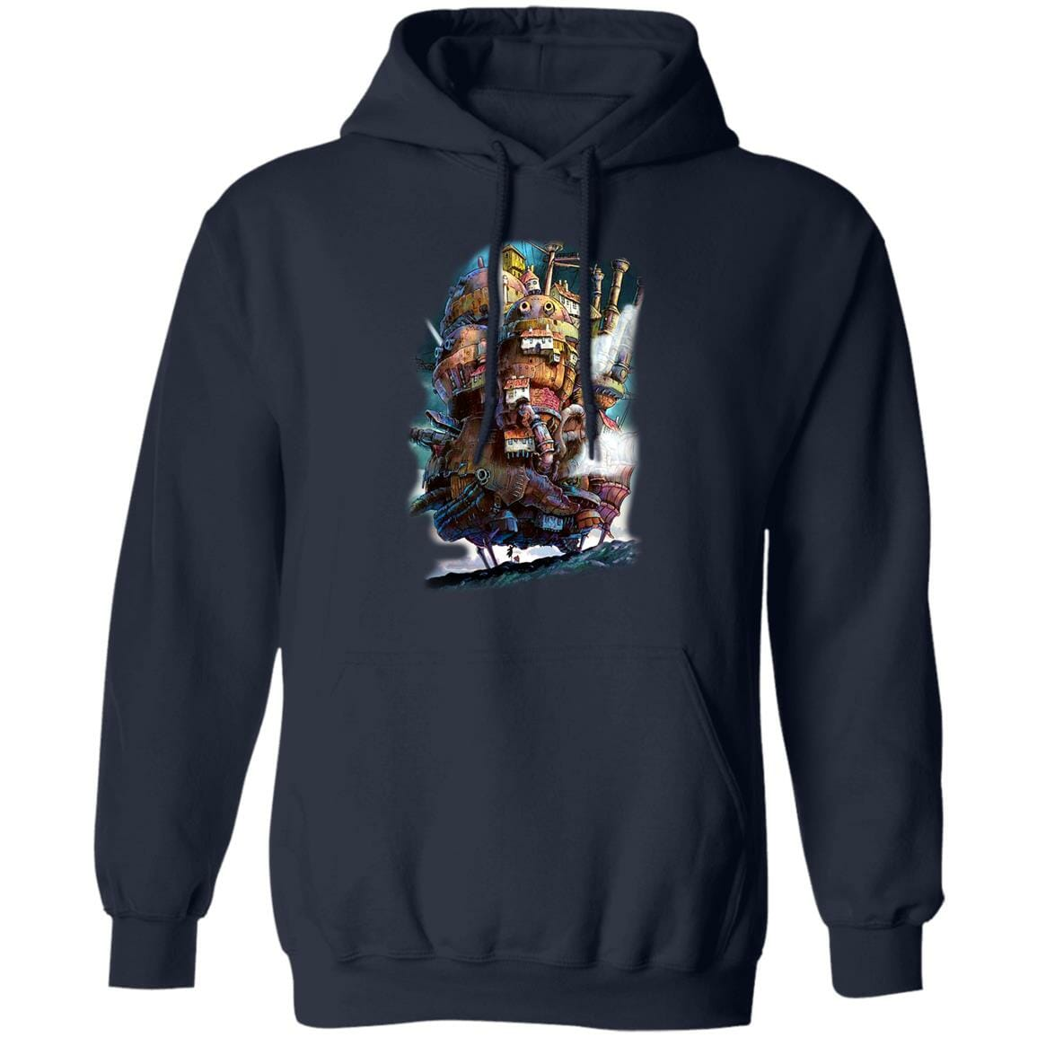 Howl's Moving Caslte on the Sky Hoodie