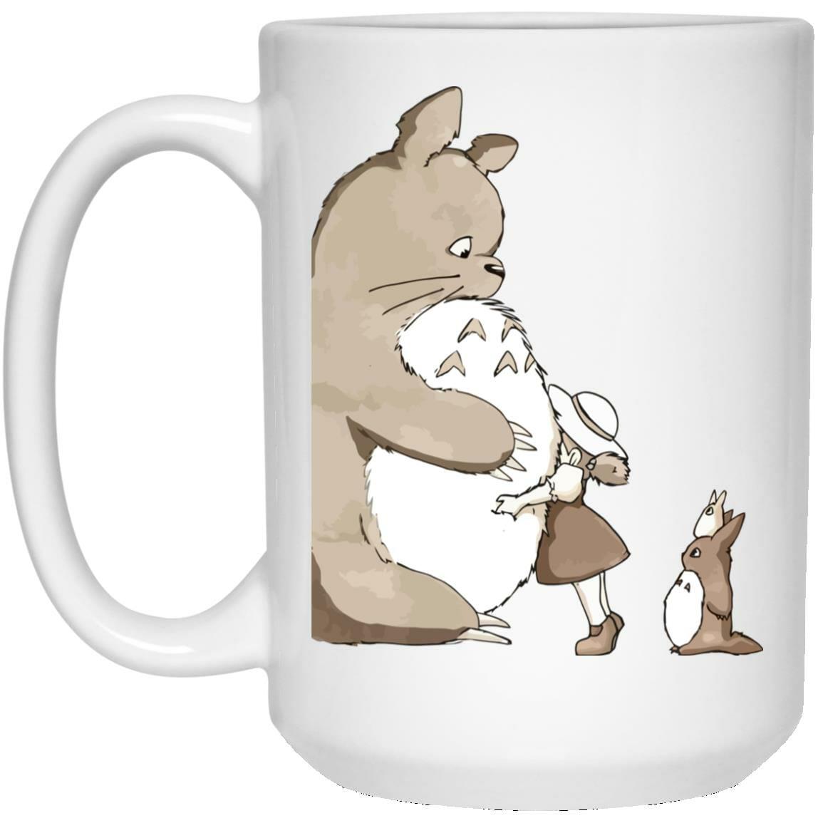 Totoro and Mei: Hugging Mug