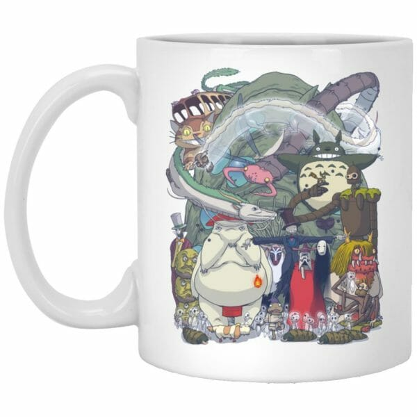 Ghibli Highlights Movies Characters Collection Mug