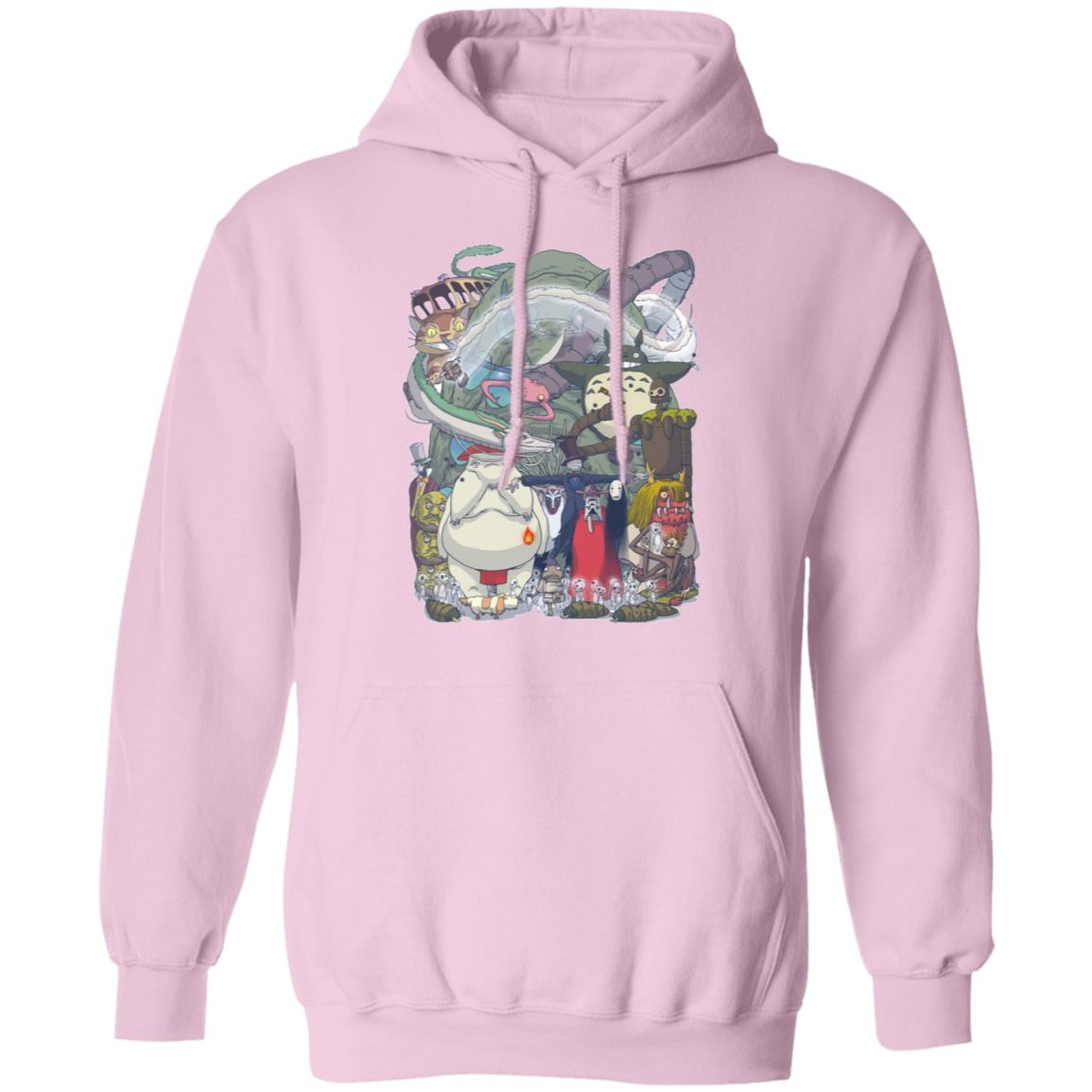 Ghibli Highlights Movies Characters Collection Hoodie