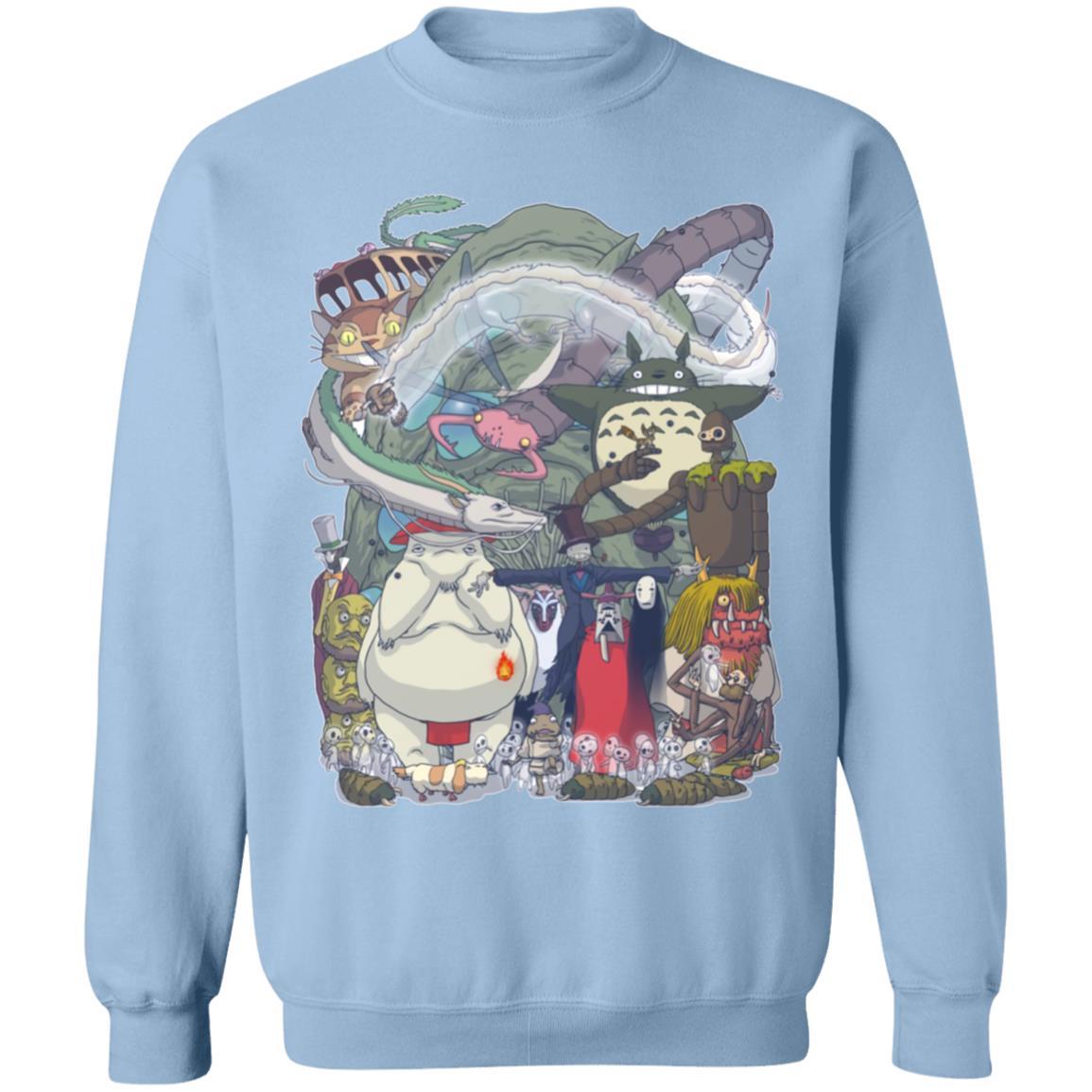 Ghibli Highlights Movies Characters Collection Sweatshirt