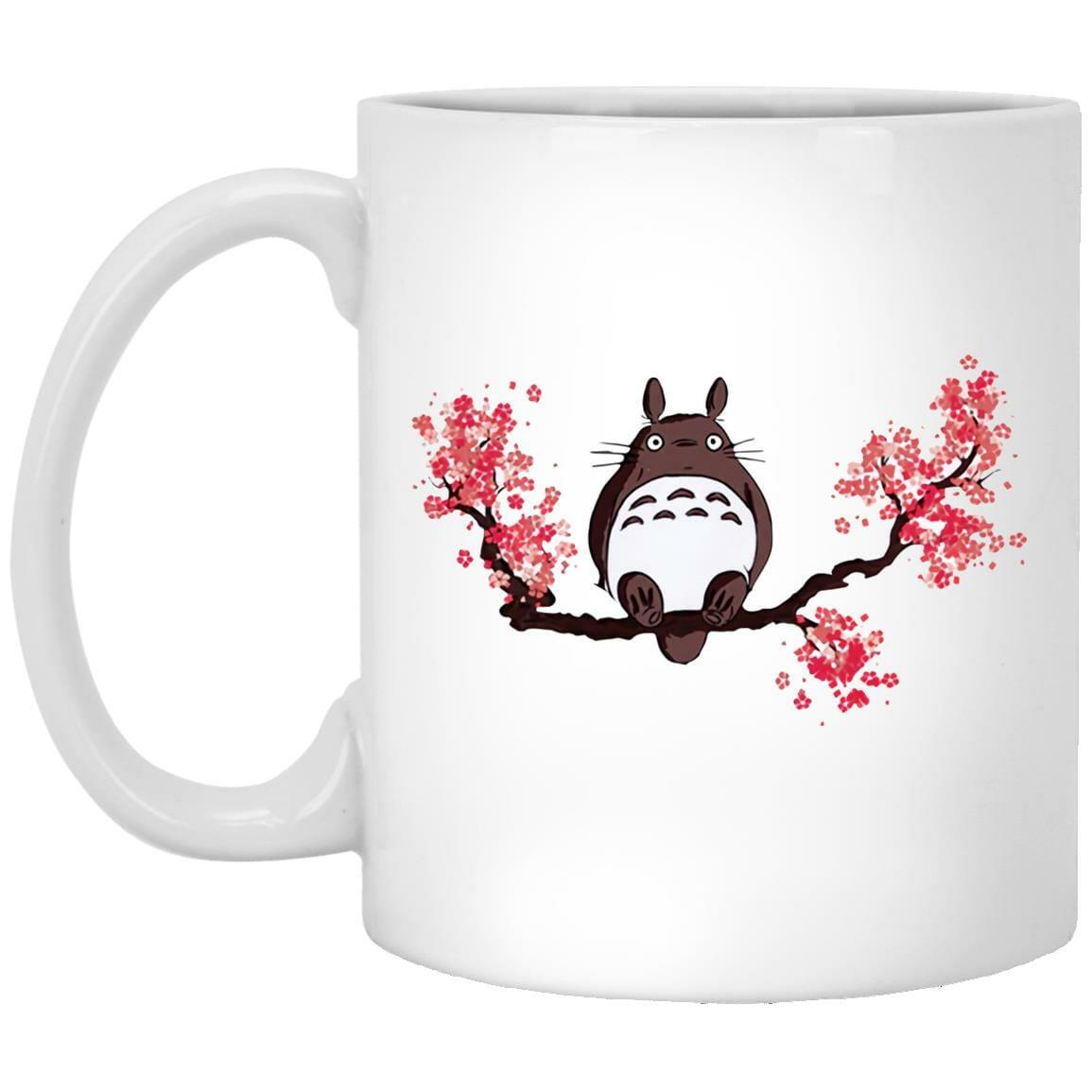 Totoro and Sakura Mug