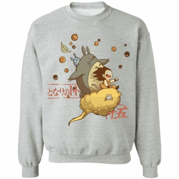 Totoro and Son Goku Sweatshirt