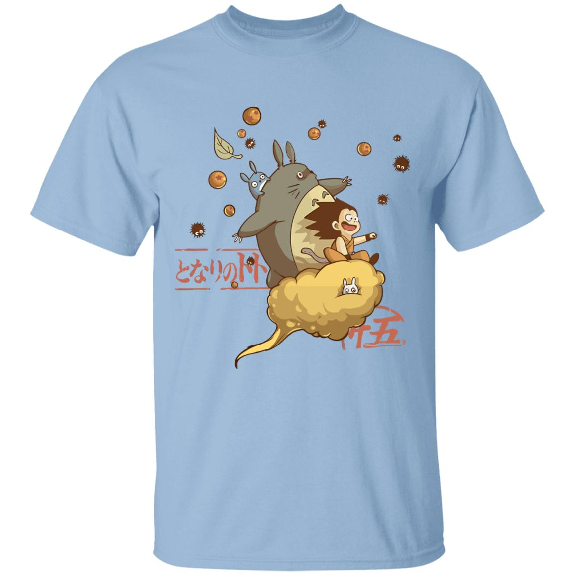 Totoro and Son Goku T Shirt