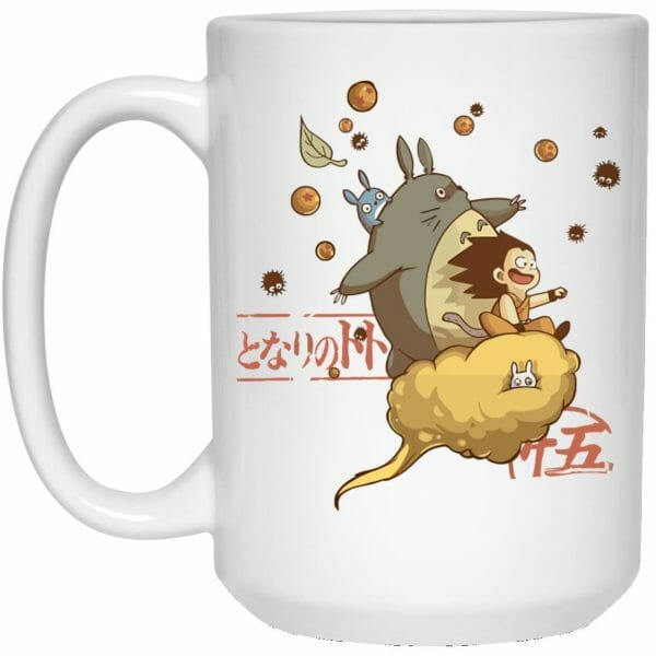 Totoro and Son Goku Mug