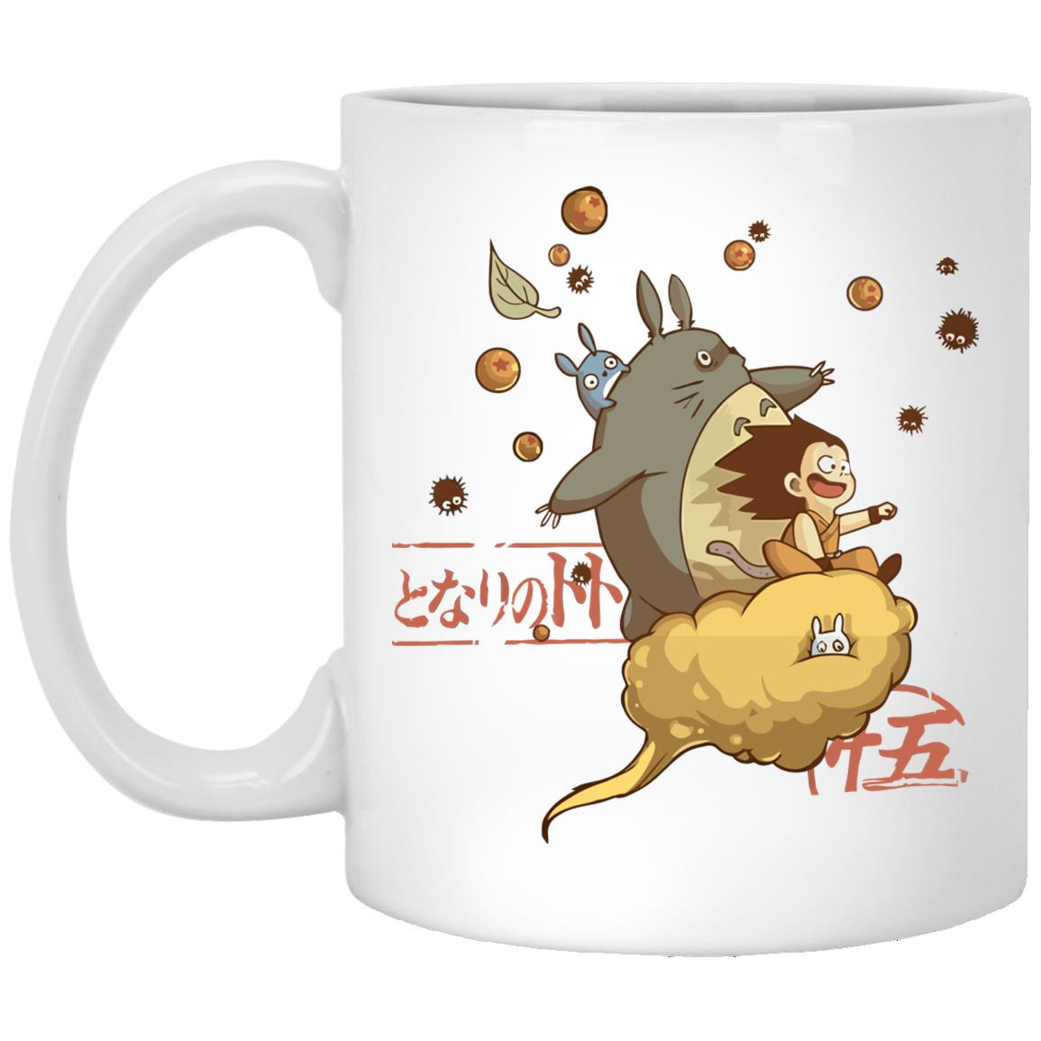 Totoro and Son Goku Mug