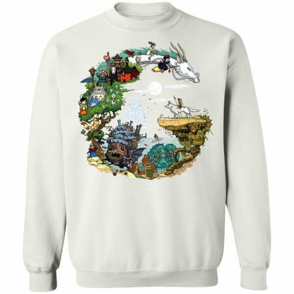 Ghibli Movie Circle Sweatshirt