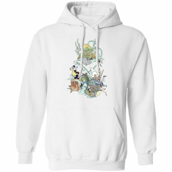 Ghibli Characters Color Collection Hoodie