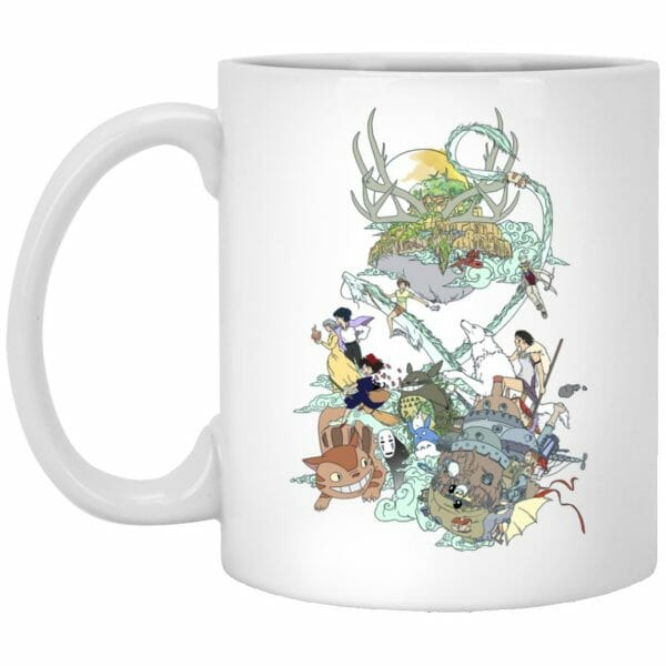 Ghibli Characters Color Collection Mug
