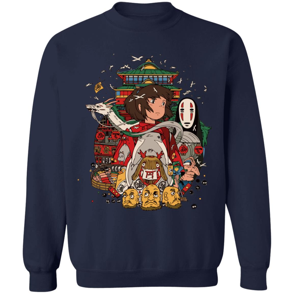 Spirited Away – Sen and Friends Sweatshirt