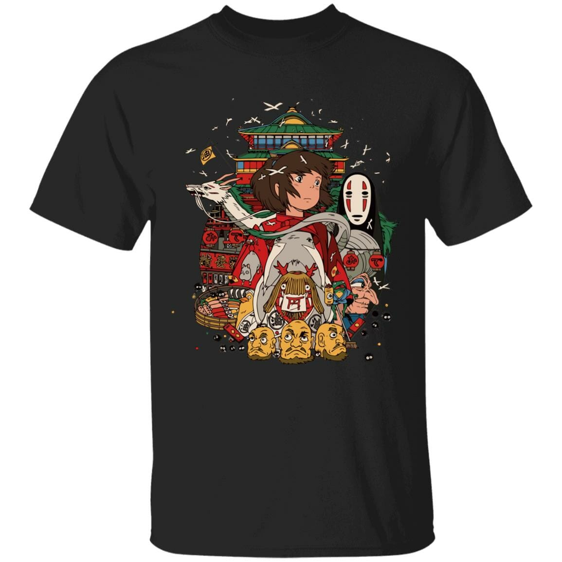 Spirited Away – Sen and Friends T Shirt