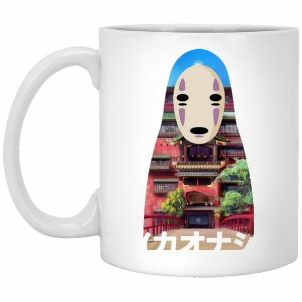 Spirited Away Kaonashi Cutout Colorful Mug