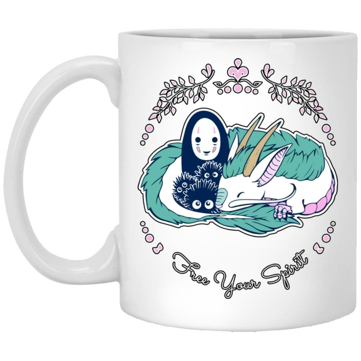 Spirited Away – No Face and Haku Dragon Mug