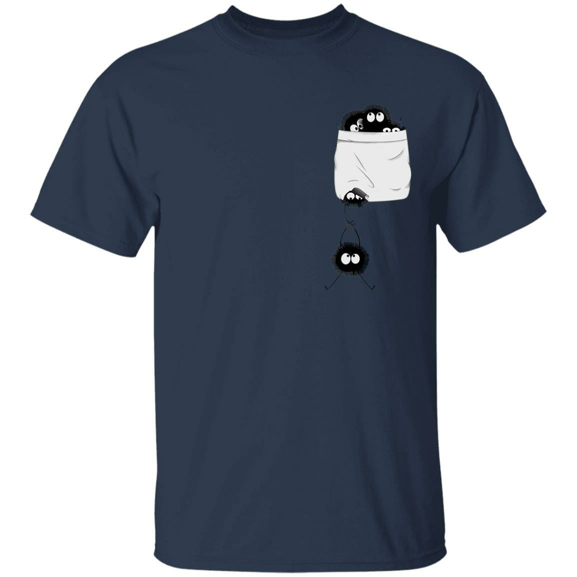 Spirited Away – Soot Ball in pocket T Shirt