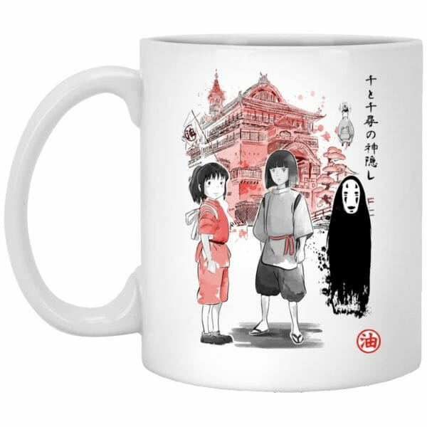 Tree Spirits under the Sakura Mug