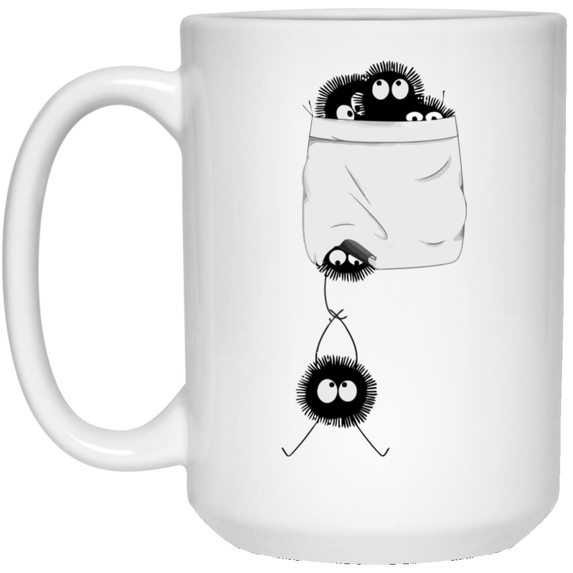 Spirited Away – Soot Ball in pocket Mug