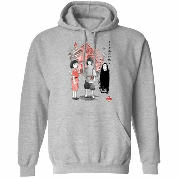 Spirited Away – Sen and Friends by the Bathhouse Hoodie