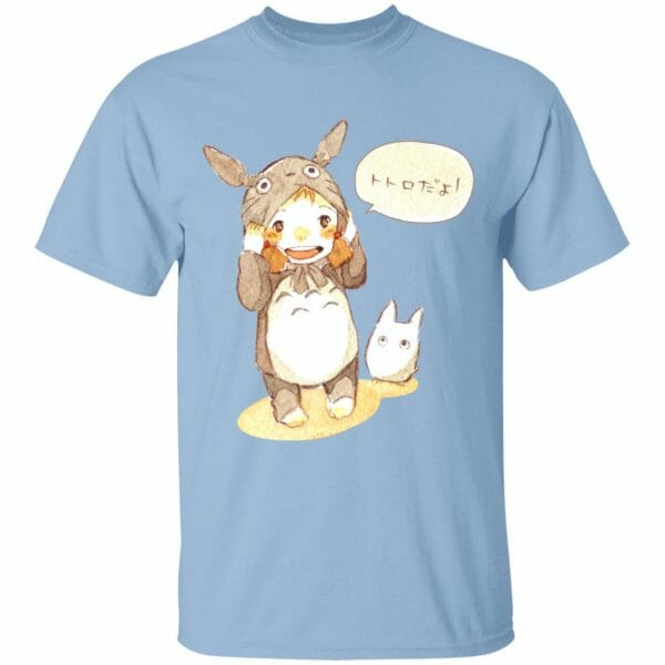 Baby Cosplay Totoro Korean Art T Shirt
