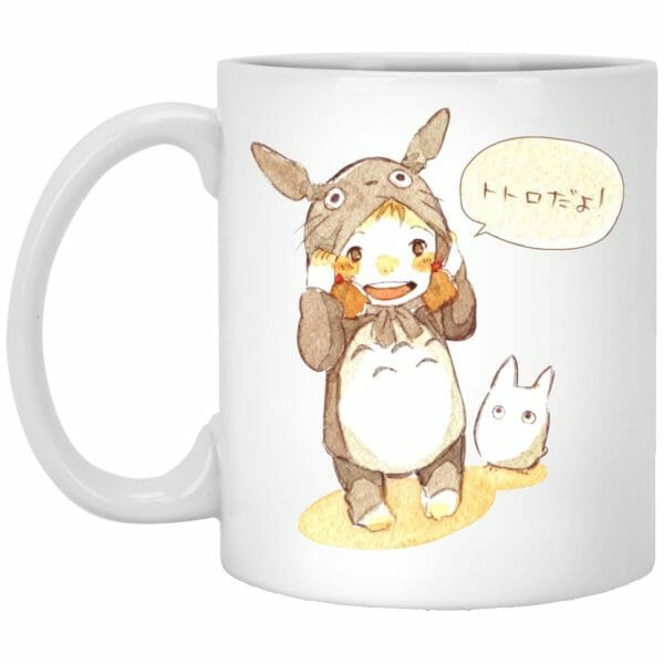 Baby Cosplay Totoro Korean Art Mug