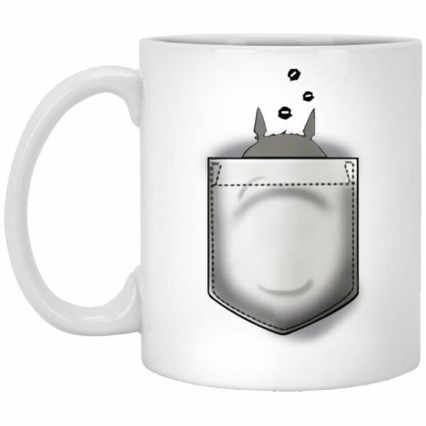 Totoro and Soot Balls in Pocket Mug