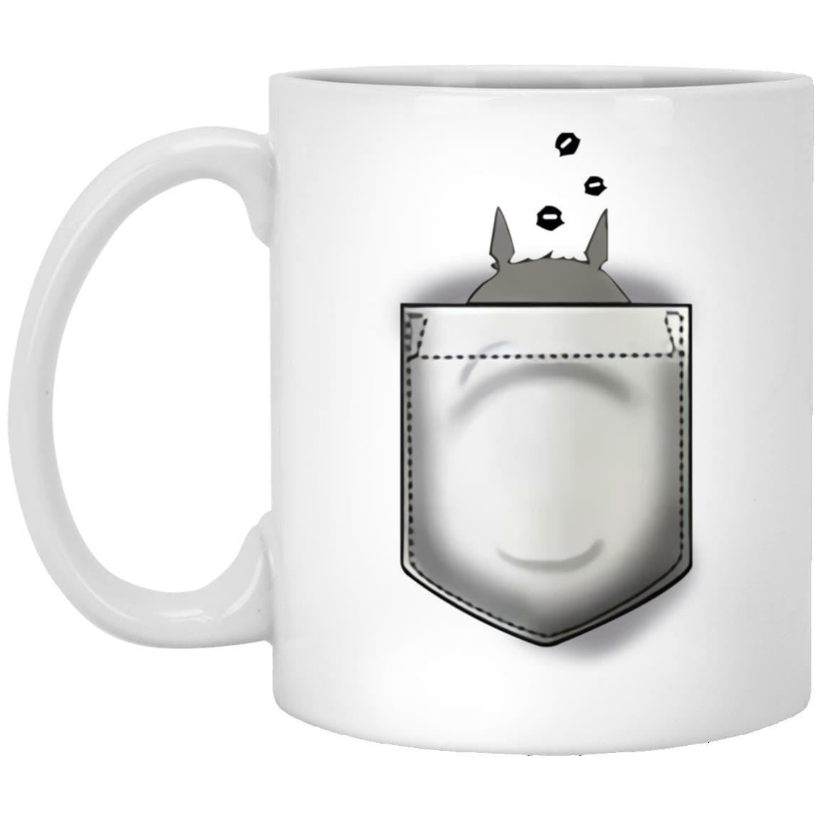 Totoro and Soot Balls in Pocket Mug