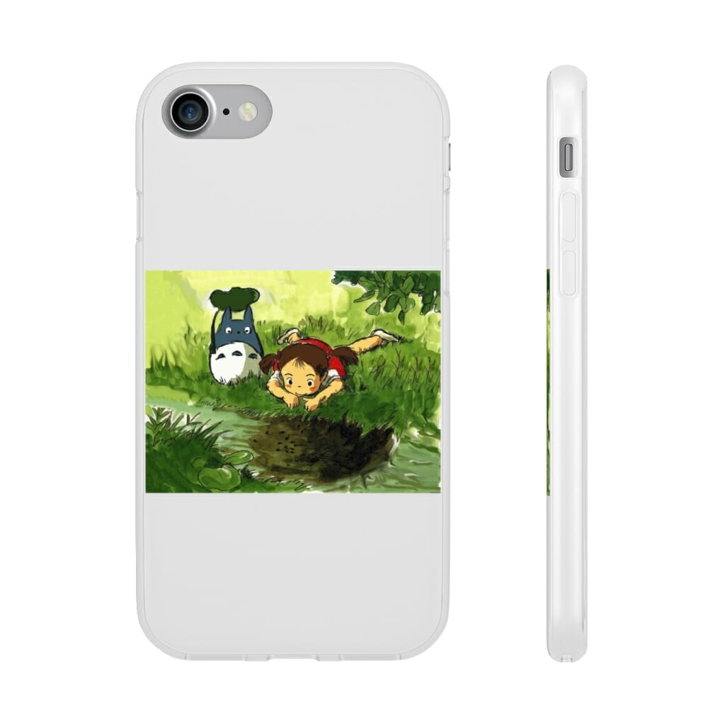 My Neighbor Totoro – Playing Mei iPhone Cases