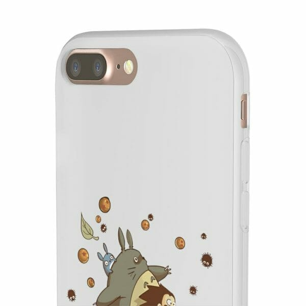 Totoro and Son Goku Iphone Cases