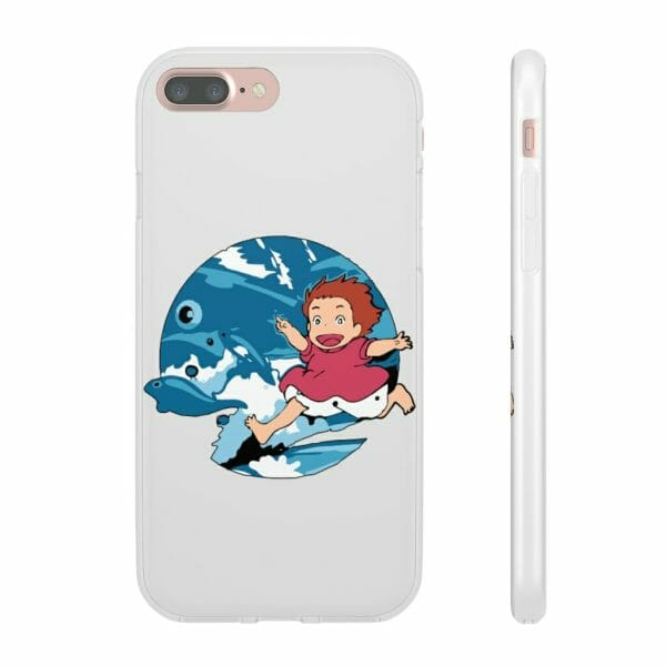 Ghibli Studio Ponyo On The Waves iPhone Cases